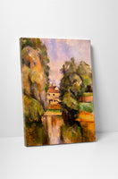 Paul Cezanne - Country House By A River