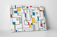 Abstract Lines Canvas Wall Art