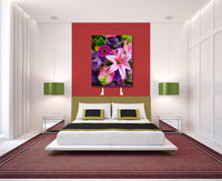 Flowers Bouquet III Canvas Wall Art