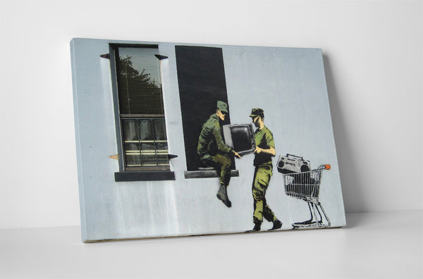 Banksy - Looting Soldiers