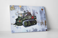 Banksy Love Squad Stretched Canvas Wall Art