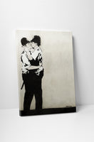 Banksy - Kissing Cops