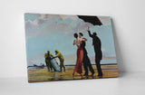 Banksy Dancing at Toxic Wastes Canvas Wall Art