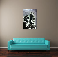 Banksy Batman Police Arrest Brushed Aluminum Metal Art Print
