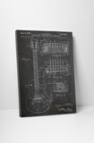 Gibson Guitar Les Paul Patent Canvas Wall Art