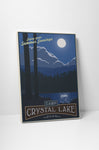 Steve Thomas Camp Crystal Lake Canvas Wall Art