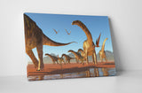 Dinosaurs I Canvas Wall Art
