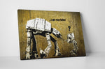 Banksy I am Your Father Canvas Wall Art