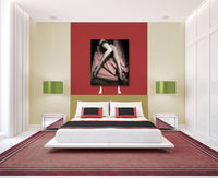 Nylon and Hills Canvas Wall Art