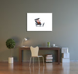 Banksy The Rickshaw Canvas Wall Art