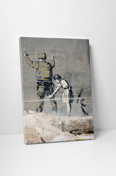 Banksy - Graffiti in Bethlehem
