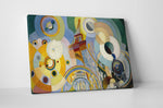 Robert Delaunay Air, Iron and Water Canvas Wall Art