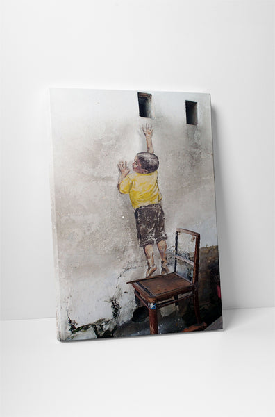 Ernest Zacharevic - Reaching Up