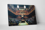 Banksy Monkey Parliament Canvas Wall Art