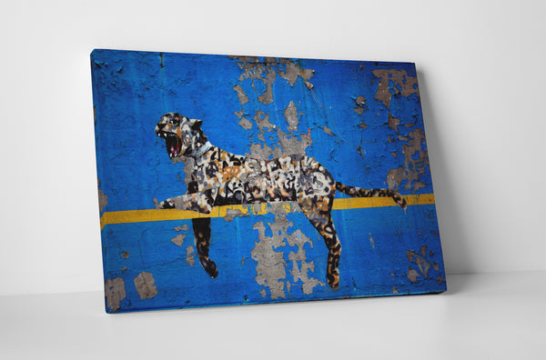 Banksy Yankee Tiger Gallery Wrapped Canvas Wall Art