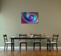Peacock Feathers Canvas Wall Art