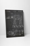 Star Wars AT-AT Walker Patent Canvas Wall Art