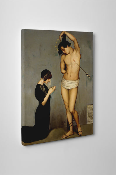 Angel Zarraga - Votive Offering (Saint Sebastian)