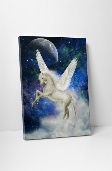 Unicorn III Canvas Wall Art