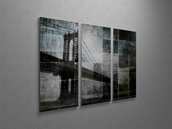 New York City Bridge Canvas Wall Art
