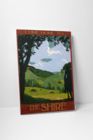 Steve Thomas Come Home to Shire Canvas Wall Art