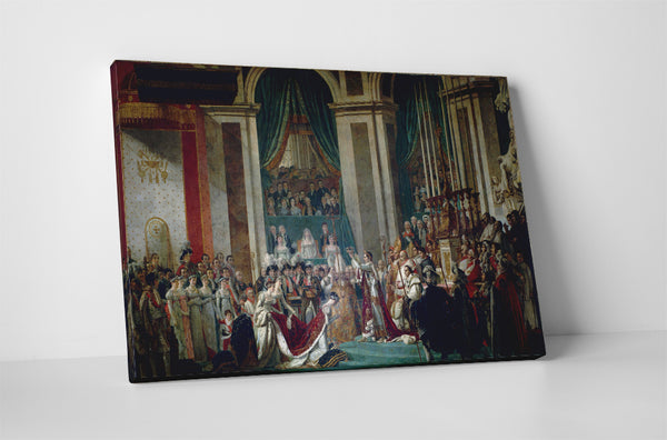 Jacques-Louis David - Coronation of Napoleon And Josephine
