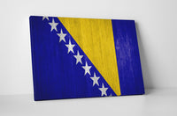 Vintage Bosnia and Herzegovina Flag