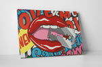 James Rawson Odaxelagnia Modern Pop Canvas Wall Art