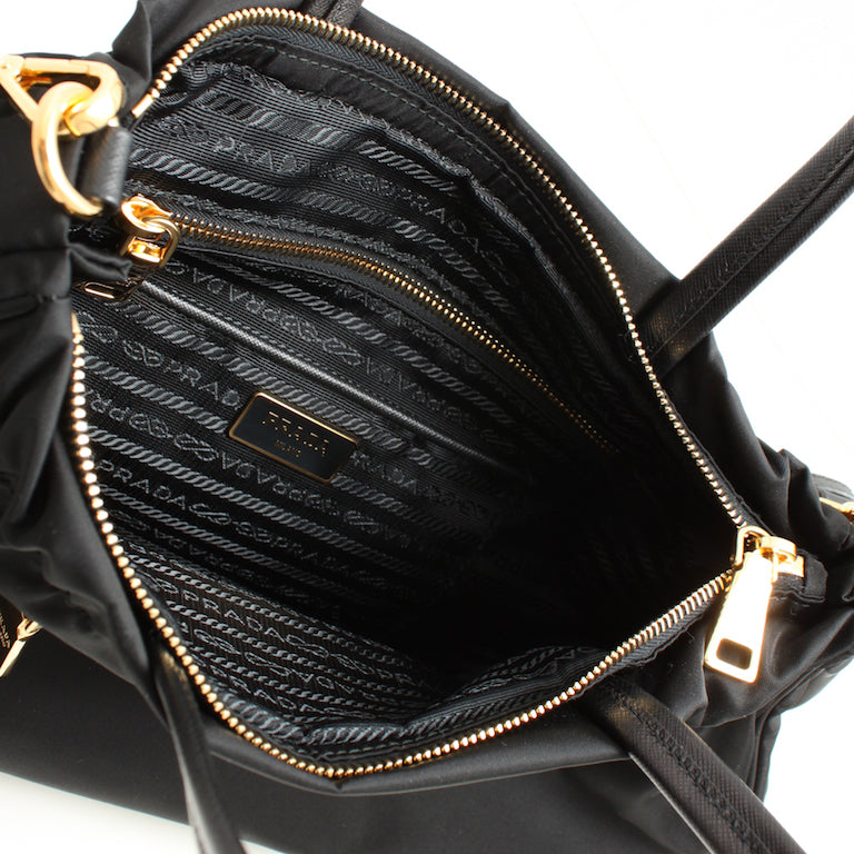 31dd07dc99d877 Pre-Owned Large Prada Tote – Polish and Repeat