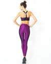 High Waist Contrast Yoga Workout Legging