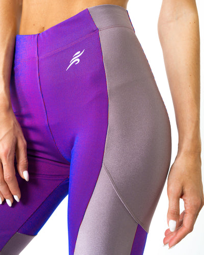 Luxe High-Performance Compression Leggings - Purple