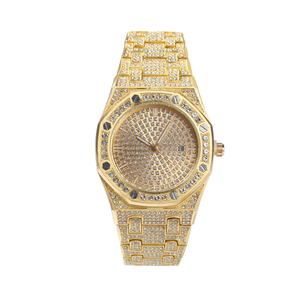 Iced Out Diamond Rolex Watch