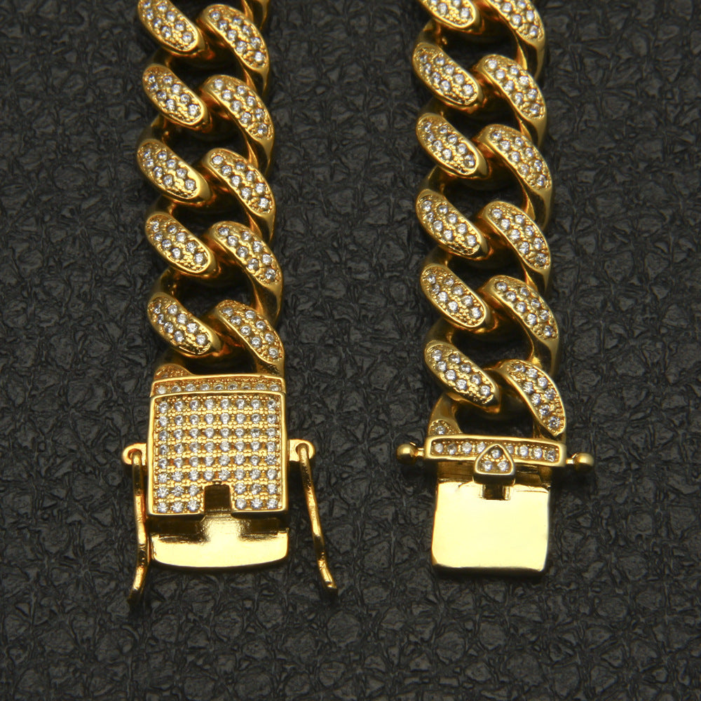 Diamond Cuban Link Choker