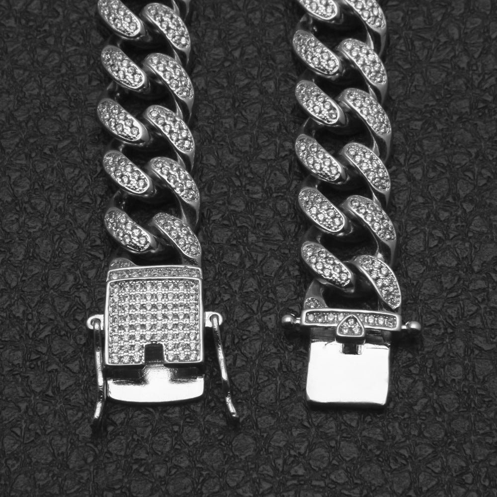 Diamond Cuban Link Choker Miami Edition