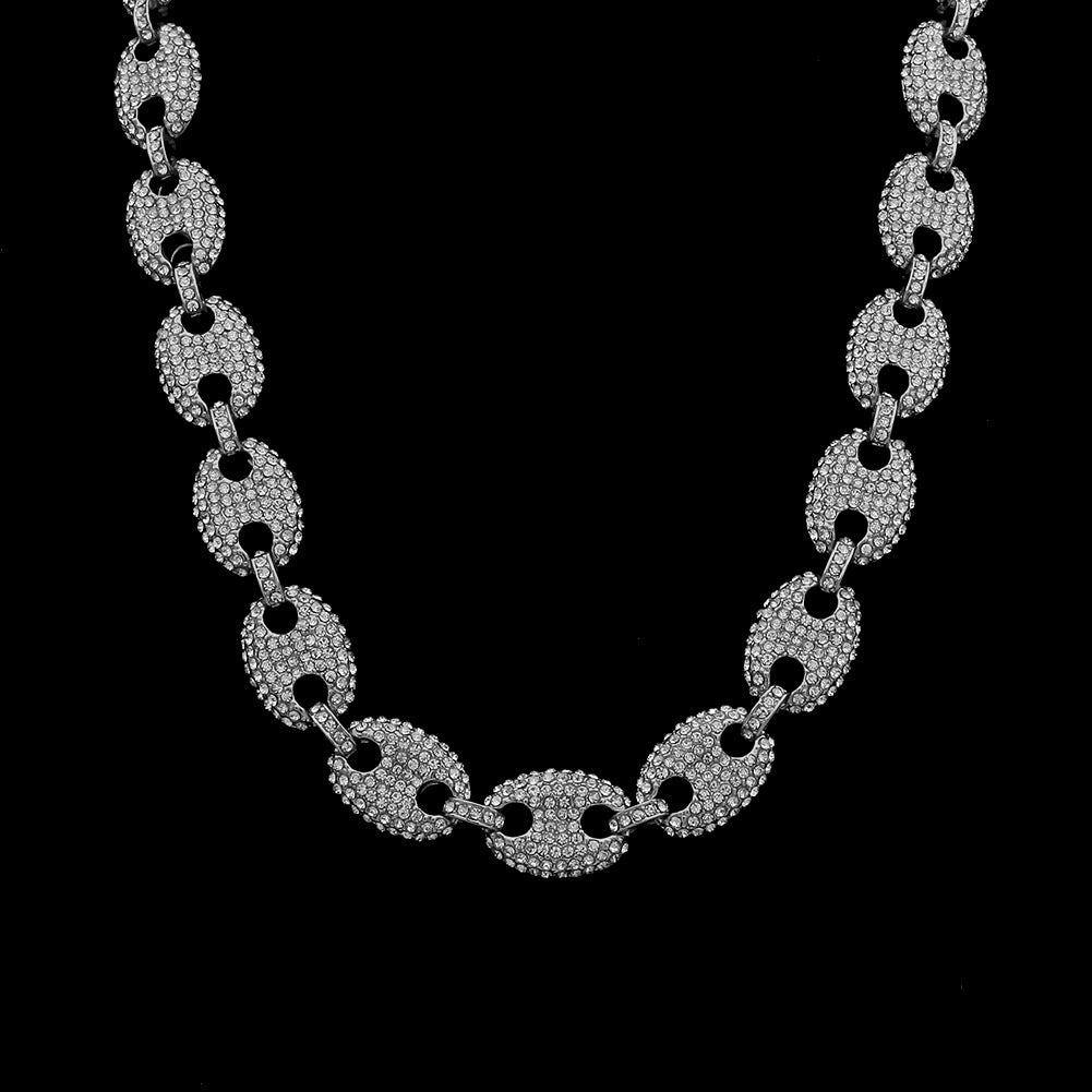 Diamond Gucci Link Necklace