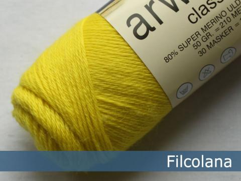 Filcolana Arwetta Electric Yellow 251 garn
