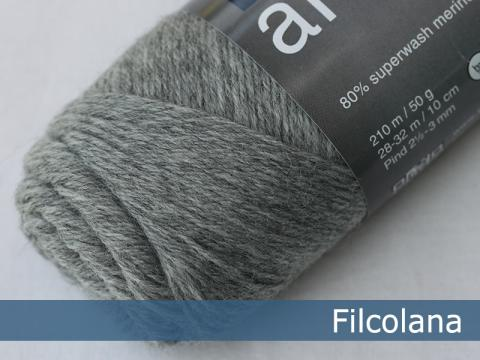 Filcolana Arwetta Light Grey Melange