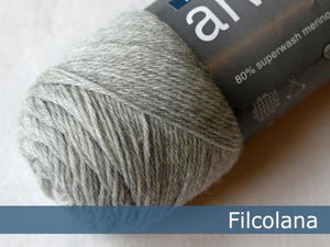 Filcolana Arwetta Very Light Grey Melange 957 garn