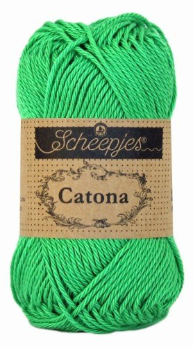 Scheepjes Catona 389 Apple Green garn