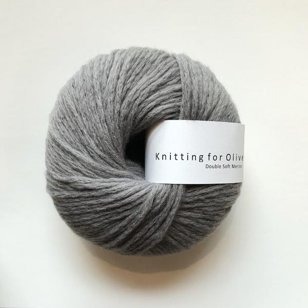 Knitting for Olive Double Soft Merino Bly garn