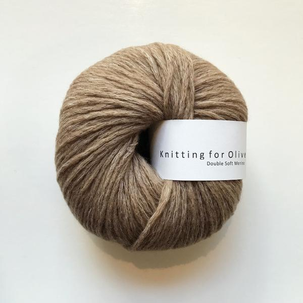 Knitting for Olive Double Soft Merino Lys cognac
