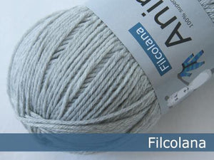 Filcolana Anina Very Light Grey Melange 957 garn