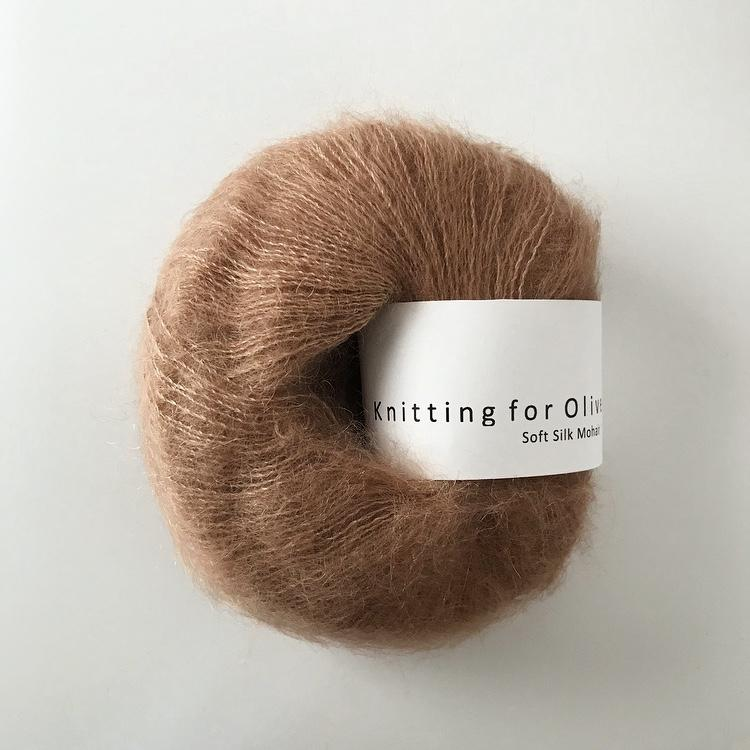 Knitting For Olive Soft Silk Mohair Blød Nougat