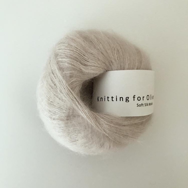 Knitting For Olive Soft Silk Mohair Kit garn