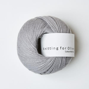Knitting for Olive Cottonmerino Musegrå garn