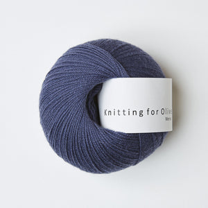 Knitting for Olive Merino Mørkeblå