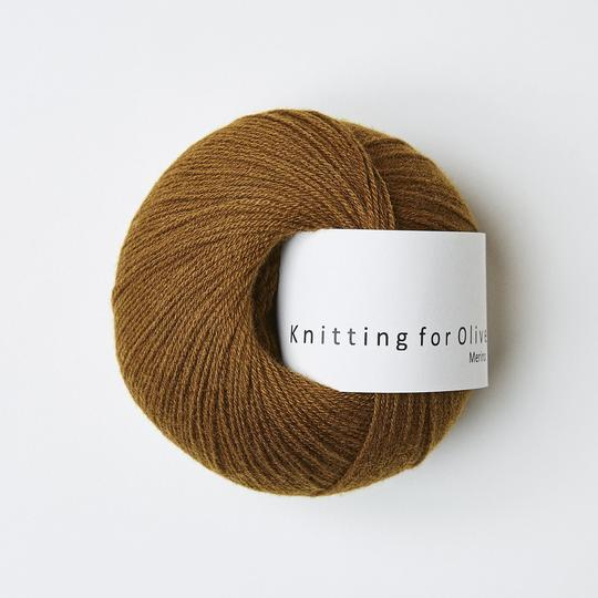 Knitting for Olive Merino Okkerbrun