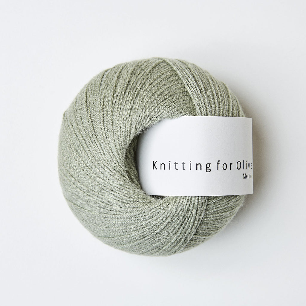 Knitting for Olive Merino Støvet Atiskok