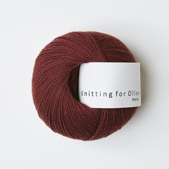 Knitting for Olive Merino Vinrød