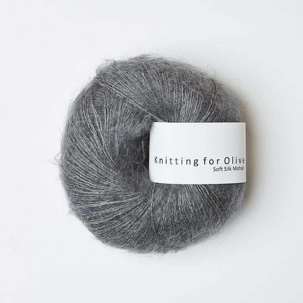 Knitting For Olive Soft Silk Mohair Bly garn